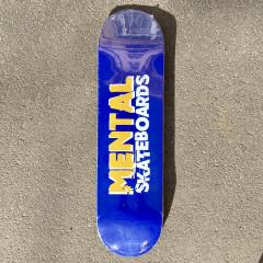 "Дека Mental Skateboards Blue 8.375"""